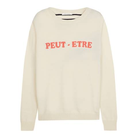 Chinti and Parker Cream Cashmere Peut- Etre Sweater