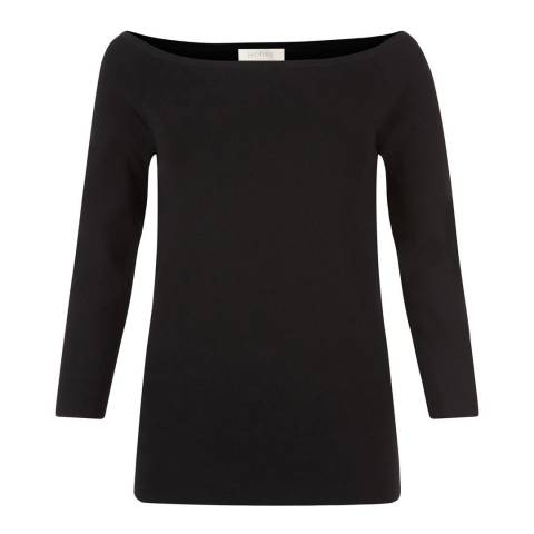 Hobbs London Black Freya Sweater