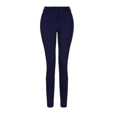 Hobbs London Blue Amanda Skinny Stretch Jeans