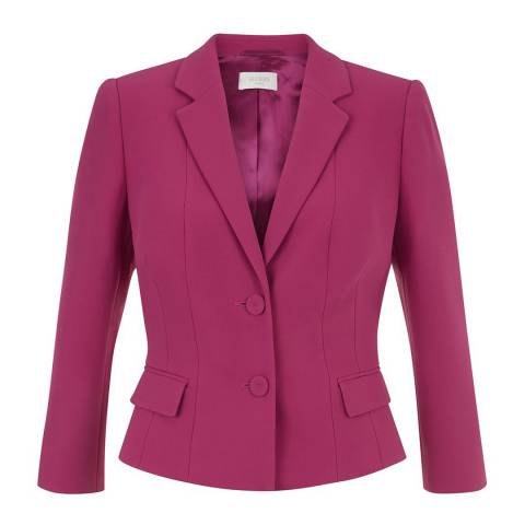Hobbs London Dark Pink Vivien Jacket