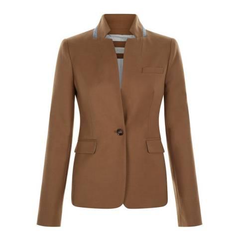Hobbs London Brown Esme Jacket