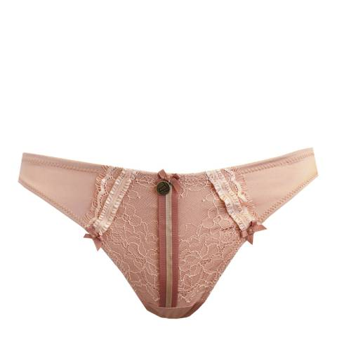 Tallulah Love Powder Puff Tara Thong