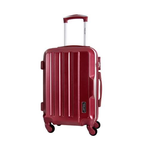 Travel One Bordeaux Vilarosa 4 Wheel Medium Suitcase 56cm