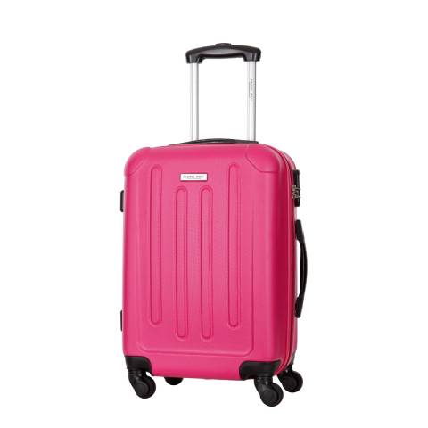 Travel One Fuschia Rivera 4 Wheel Medium Suitcase 60cm