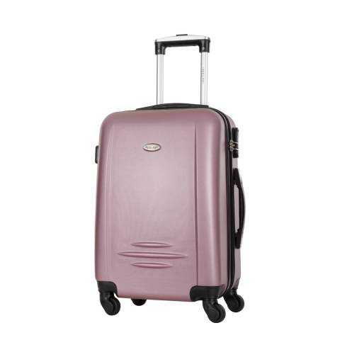 Travel One Red Burlin 4 Wheel Medium Suitcase 56cm