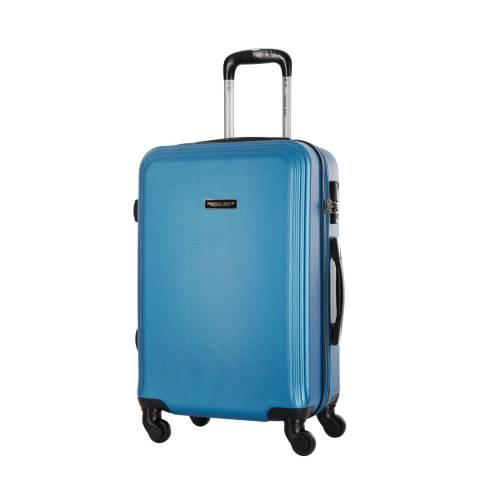 Travel One Blue Alicudi 8 Wheel Medium Suitcase 56cm