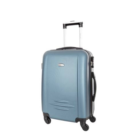 Travel One Blue Burlin 4 Wheel Small Suitcase 50cm
