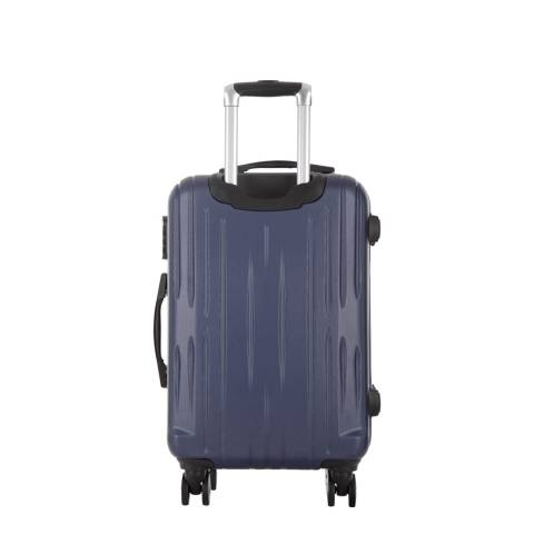 Travel One Blue Clifton 8 Wheel Small Suitcase 45cm