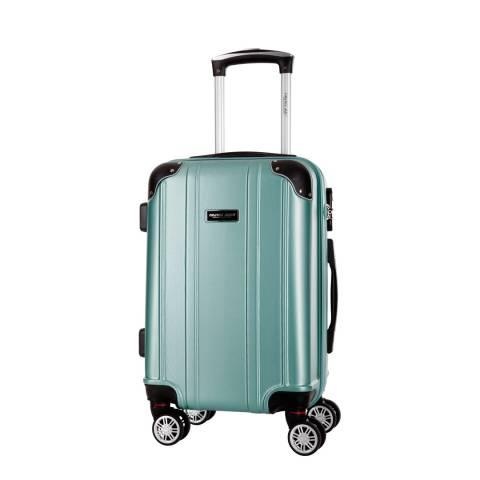 Travel One Green Bazzano 8 Wheel Medium Suitcase 56cm