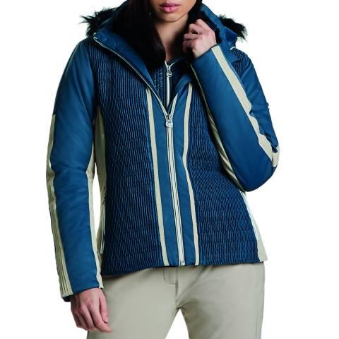 Dare2B Blue/Macchiato Brown Statement Jacket