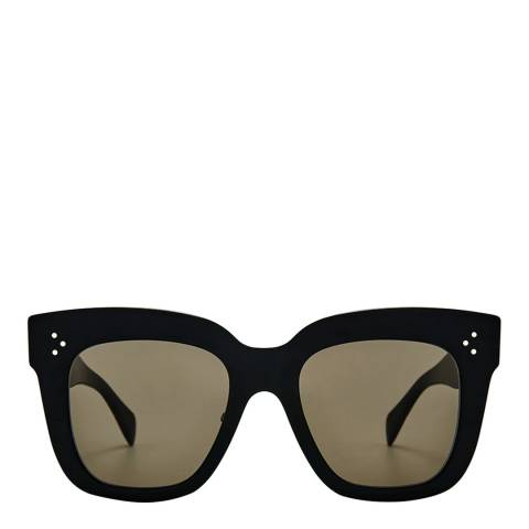 Celine Women's Black/Brown Kim Sunglasses 51mm