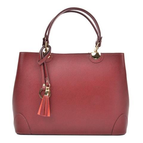 Isabella Rhea Wine Leather Isabella Rhea Top Handle Bag
