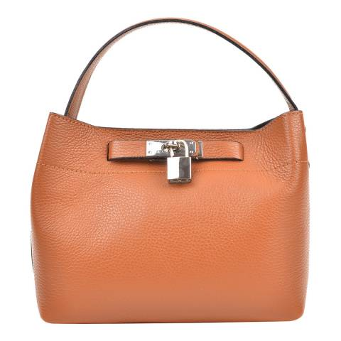 Isabella Rhea Cognac Leather Isabella Rhea Shoulder Bag