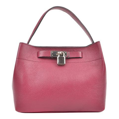 Isabella Rhea Wine Leather Isabella Rhea Shoulder Bag