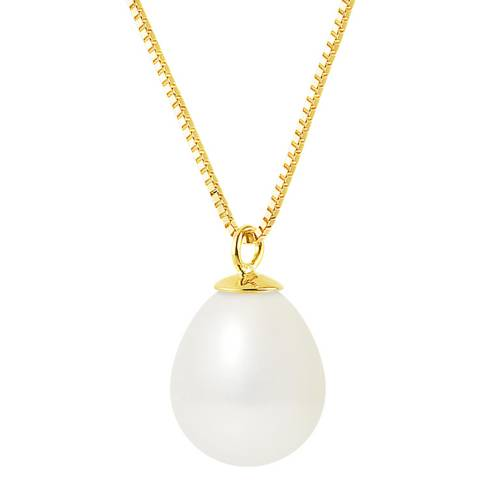 Atelier Pearls Yellow Gold Tahiti Pearl Necklace