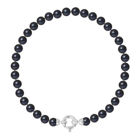 Ateliers Saint Germain Black Pearl Bracelet 5-6mm
