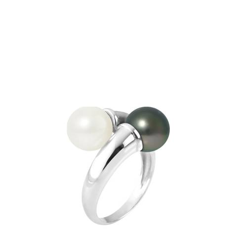 Ateliers Saint Germain White Gold Pearl Ring 6-7mm