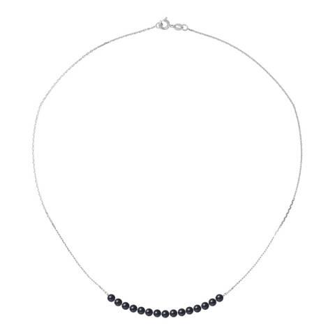 Ateliers Saint Germain Black Pearl Bracelet 3-4mm