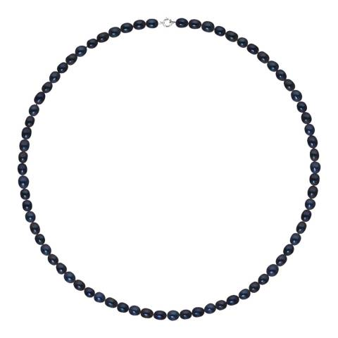 Atelier Pearls Black Pearl Necklace 4-5mm