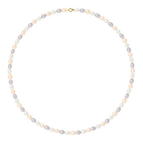 Ateliers Saint Germain Multicoloured Pearl Necklace 4-5mm