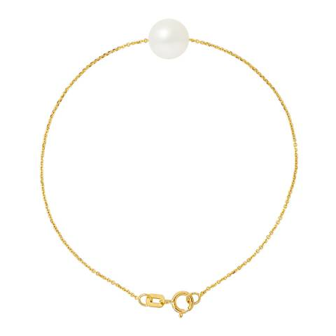 Ateliers Saint Germain Natural White Pearl Bracelet 8-9mm