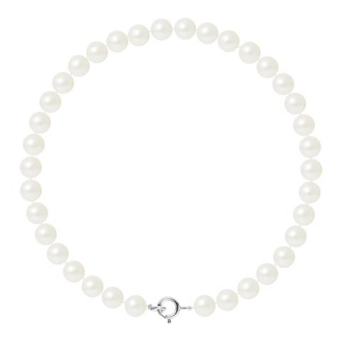 Ateliers Saint Germain Natural White Pearl Bracelet 5-6mm