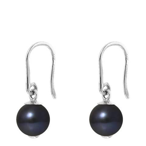 Atelier Pearls Black Pearl Earrings 8-9mm
