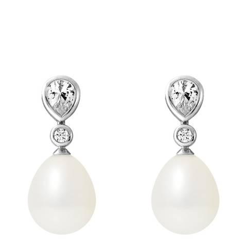 Ateliers Saint Germain White/Silver Tahiti Pearl Earrings