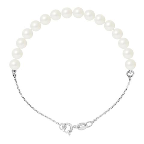 Atelier Pearls Natural White Pearl Bracelet 5-6mm