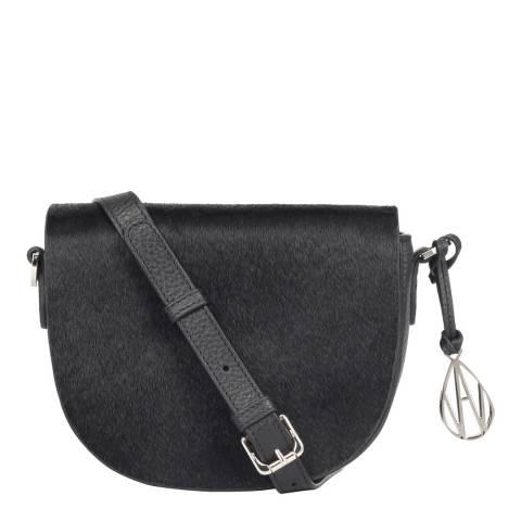 Amanda Wakeley Black Pony The Duvall Bag