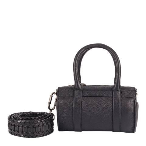 Amanda Wakeley Black Mini Hendrix Leather Bag
