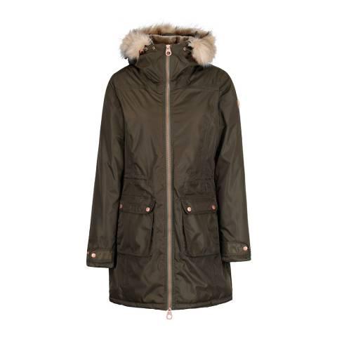 Regatta Dark Khaki Lucasta Waterproof Insulated Jacket