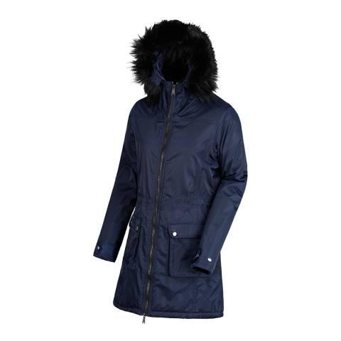 Regatta Navy Lucasta Waterproof Insulated Jacket