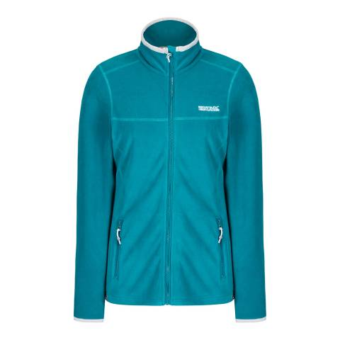 Regatta Deep Lake Floreo II Mid Weight Full Zip Fleece
