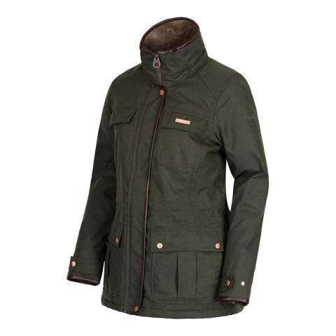 Regatta Dark Khaki Laureen Waterproof Insulated Jacket