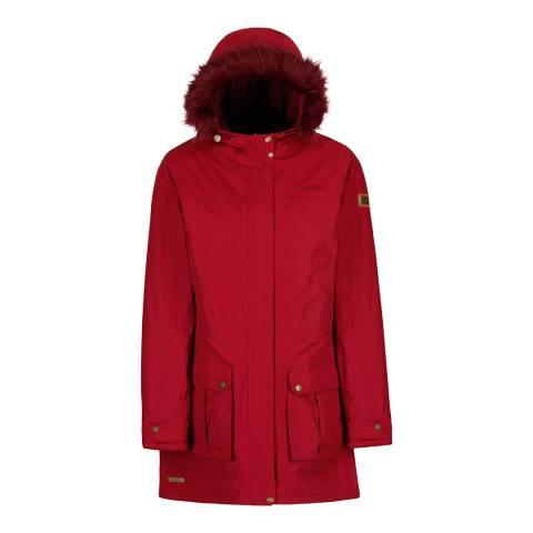 Regatta Rumba Red Sherlyn Waterproof Insulated Jacket