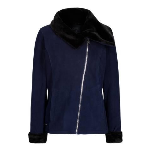 Regatta Black/Navy Balencia Fleece Jacket