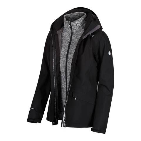 Regatta Black Calyn II Waterproof 3 in 1 Jacket