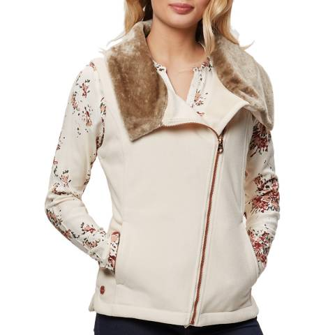 Regatta Light Vanilla Ballencia Faux Fur Collar Bodywarmer