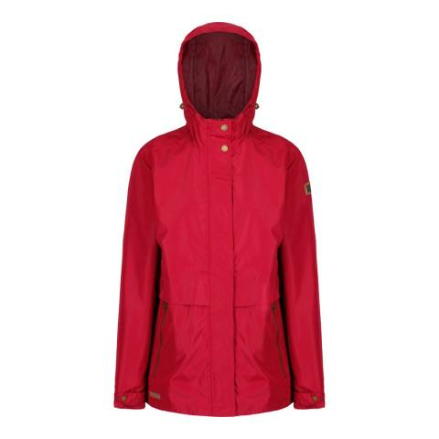 Regatta Rumba Red Bidelia Waterproof Jacket