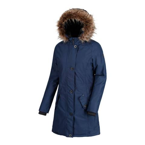 Regatta Navy Saffira Waterproof Insulated Jacket
