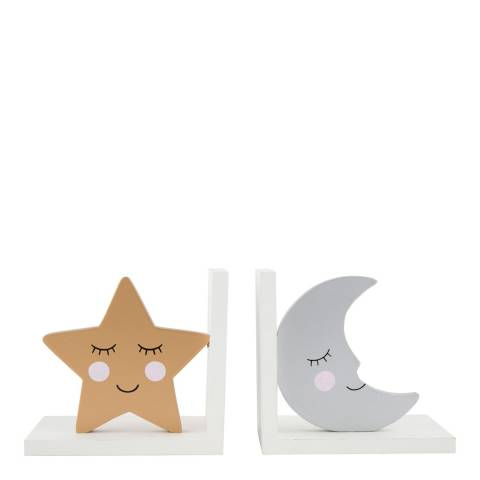 Sass & Belle Sweet Dreams Star Moon Bookends