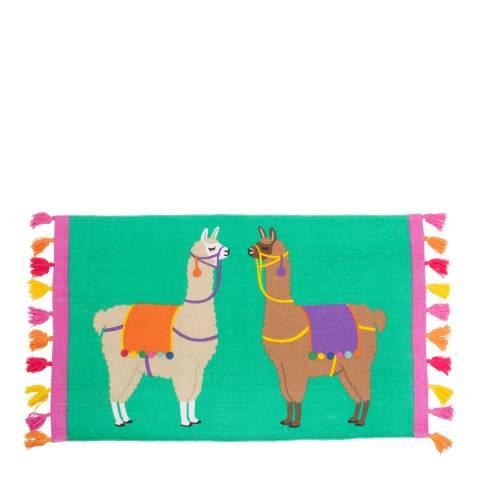 Sass & Belle Lima Llama Rug