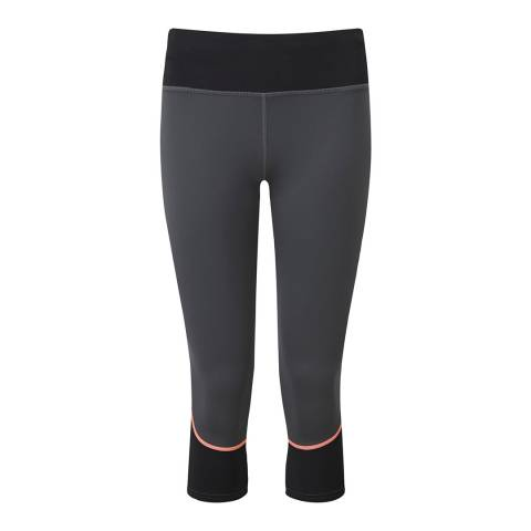 Tribe Sports Women's Pewter Grey Running Tights
