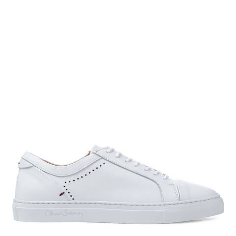 Oliver Sweeney White Leather Vendas Trainers