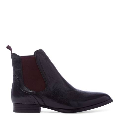 Oliver Sweeney Black Leather Beja Classic Chelsea Boots