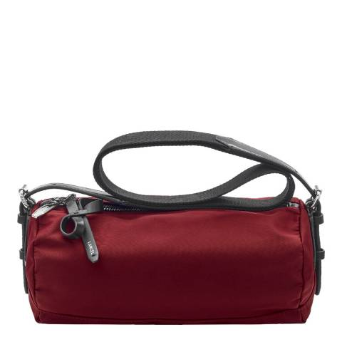 Lancel Red Medium Duffle Bag