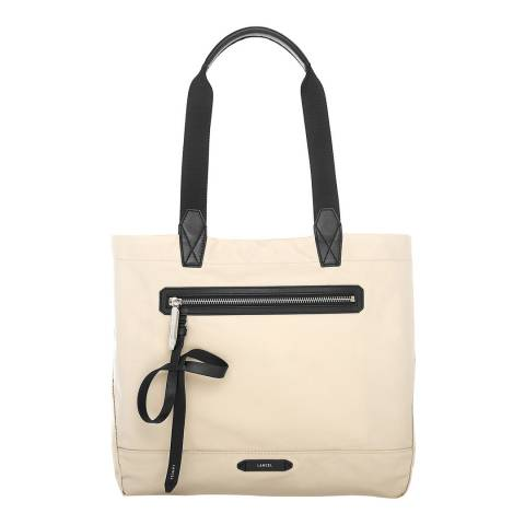 Lancel Sahara/Khaki Extra Large Reversible Tote Bag