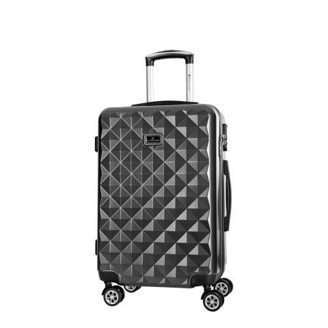 Platinium Black Gregoria Suitcase 50 cm