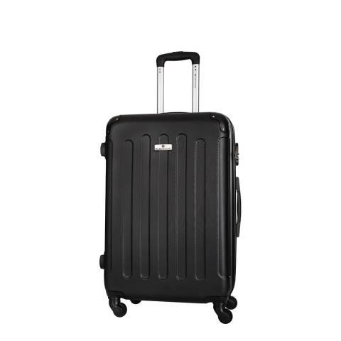 Platinium Black Buccia 4 Wheeled Suitcases 50cm